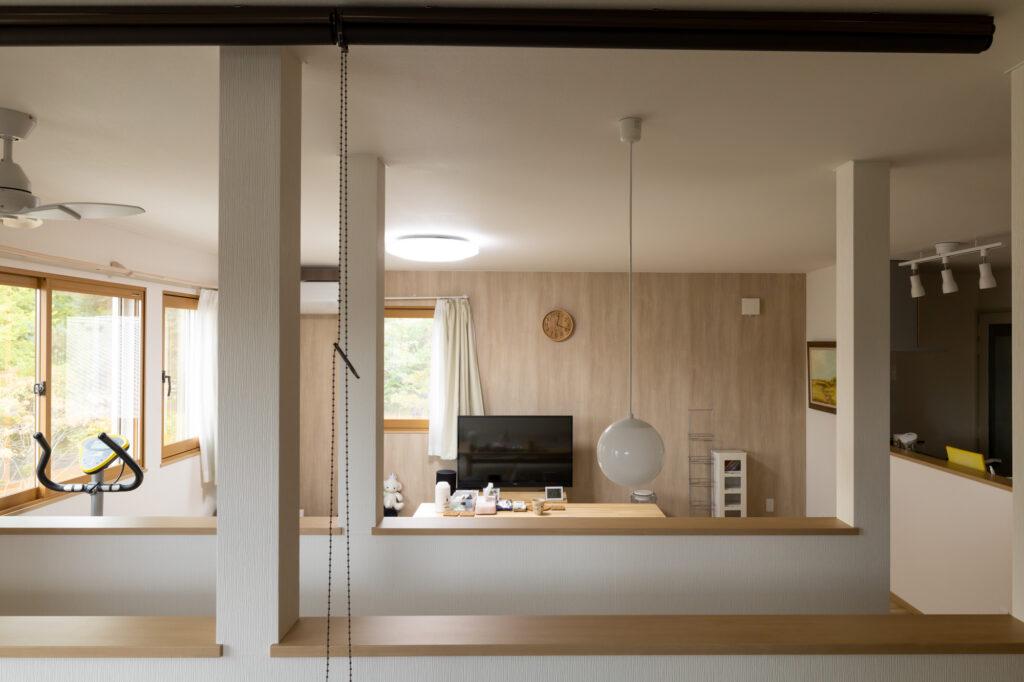 1階には店舗、2階に住居の店舗併用新築住宅